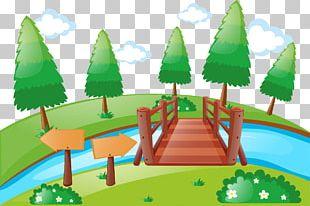 Bridge Cartoon Photography Illustration PNG