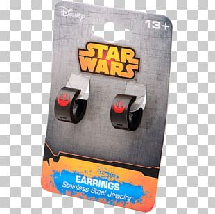 Earring Electronics Accessory Product Design Rebel Alliance Star Wars PNG