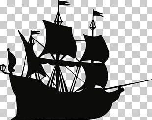 Pirate Ship Drawing PNG