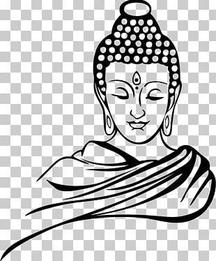 Drawing Buddhism Buddharupa Buddhahood Sketch PNG