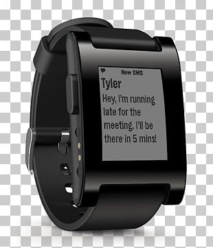 Pebble Time Round Smartwatch Pebble 2+ Heart Rate PNG