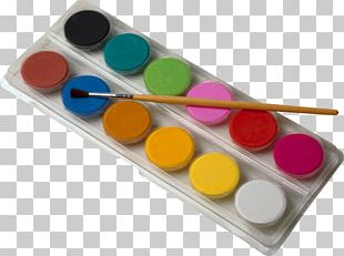 Watercolor Painting Drawing Palette PNG