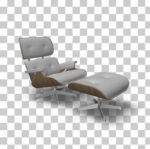Eames Lounge Chair Recliner Chaise Longue Vitra PNG