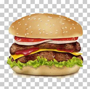 Hamburger Fast Food Take-out Delicatessen Restaurant PNG