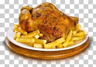 Pollo A La Brasa Roast Chicken Peruvian Cuisine French Fries PNG