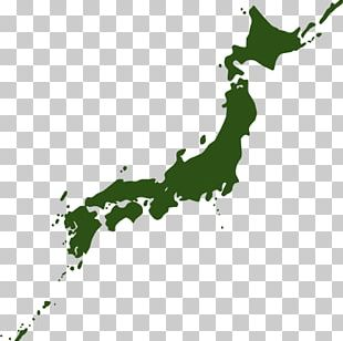 Japan Graphics Illustration Map PNG