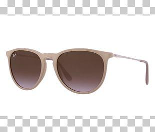 Aviator Sunglasses Ray-Ban Erika Classic PNG
