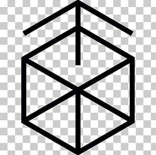 Cube Hexagon Geometry PNG