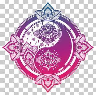 Yin And Yang Mandala Symbol Taijitu PNG