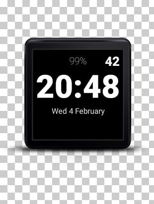 Clock Face Digital Clock Wear OS Alarm Clocks PNG