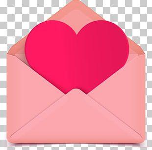Envelope Love Letter Love Letter Heart PNG