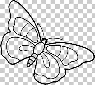 Butterfly Coloring Book Child Drawing Kleurplaat PNG