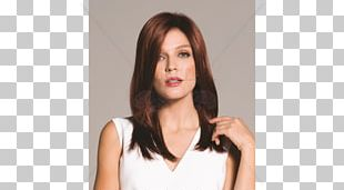 Wig Long Hair Hair Coloring Fashion PNG