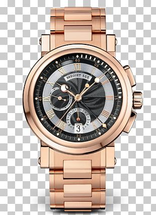 Breguet Chronograph Automatic Watch Marine Chronometer PNG