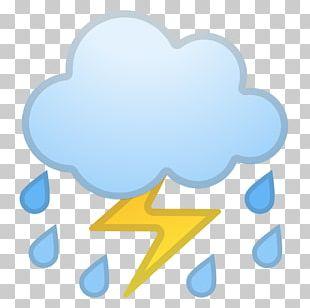 Emojipedia Cloud Lightning Thunder PNG