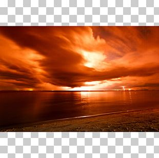 Red Sky At Morning Desktop Stock Photography PNG