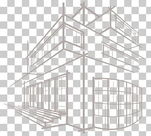 Building Architecture Drawing Sketch PNG