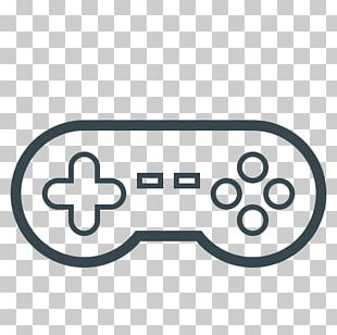 Joystick Black Game Controllers Video Game Consoles Computer Icons PNG