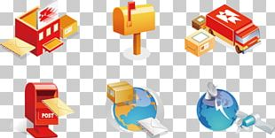 Mail Post Office Post Box Icon PNG
