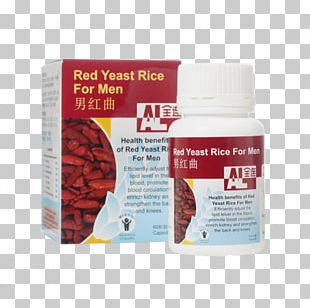 Dietary Supplement Red Yeast Rice Health Cholesterol Red Star Yeast PNG