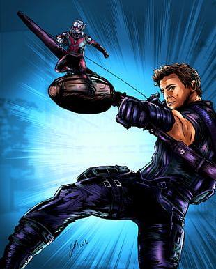 Clint Barton Ant-Man Captain America Jeremy Renner Superhero PNG