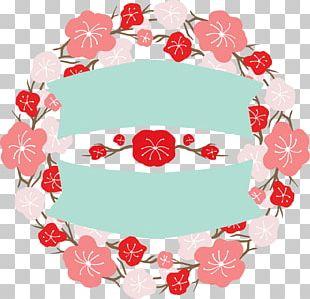 Japan Floral Design Flower Banner PNG