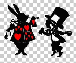 White Rabbit Alice's Adventures In Wonderland Mad Hatter Cheshire Cat Queen Of Hearts PNG