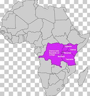 South Africa Rwanda Burundi South Sudan Democratic Republic Of The Congo PNG
