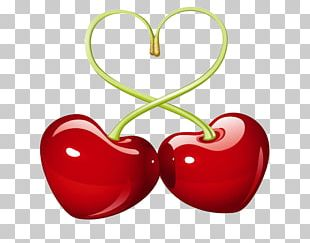 Cherry Pie Heart Love PNG