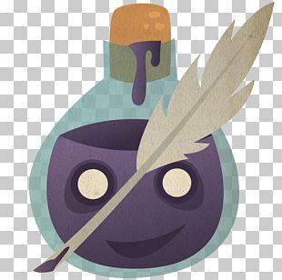 Purple Fictional Character Illustration PNG