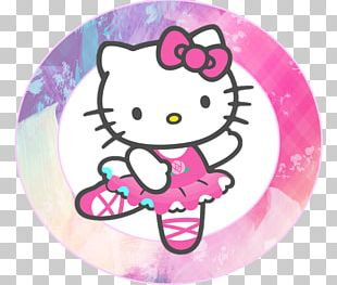 Hello Kitty Ballet Dancer PNG