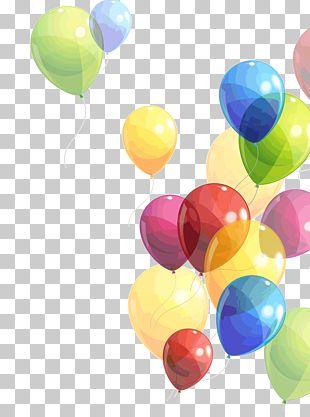 Balloon Birthday PNG