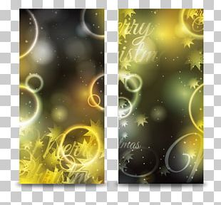 Christmas Banner Poster PNG