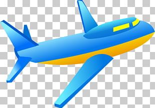 Airplane Aircraft Blue Sky PNG