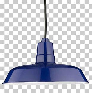 Barn Light Electric Lamp Lighting Cobalt Blue PNG
