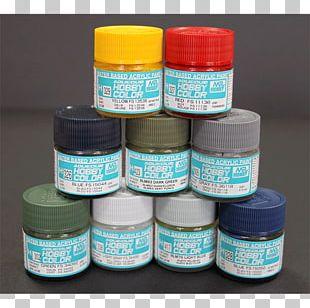 Model Building Color Acrylic Paint Hobby Plamo PNG