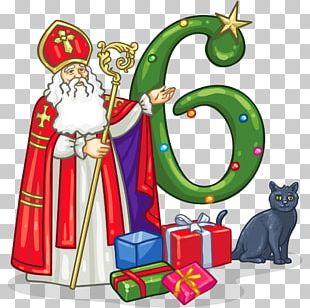 Santa Claus Christmas Ornament Saint Nicholas Day PNG