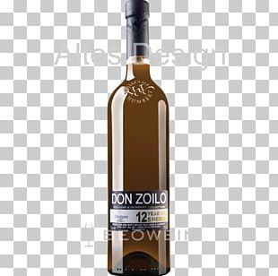 Liqueur Dessert Wine White Wine Glass Bottle PNG