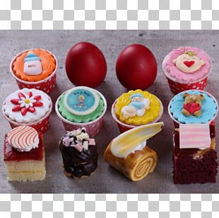 Cupcake Petit Four Muffin Buttercream Baking PNG