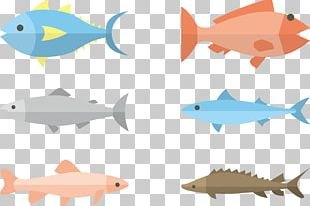 Fish Flat Design Illustration PNG