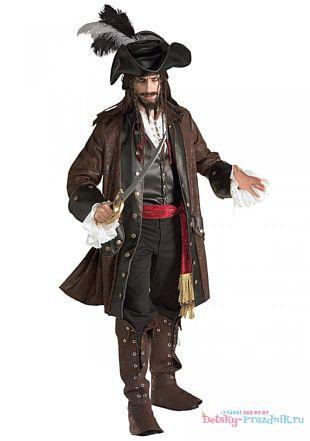Jack Sparrow Halloween Costume Piracy Male PNG