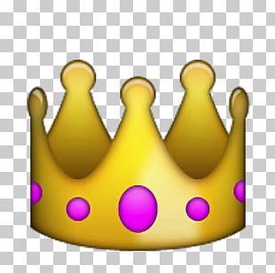 Apple Color Emoji IPhone Sticker Crown PNG