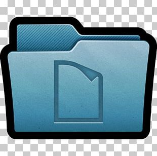 Blue Rectangle Font PNG