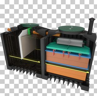 Kleinkläranlage Septic Tank Filtre Compact Sewage Treatment PNG