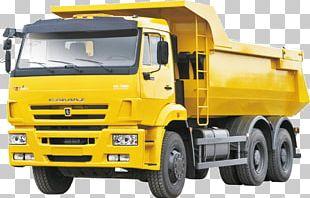 KamAZ-6520 Car Dump Truck PNG