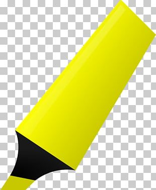 Paper Highlighter Marker Pen PNG