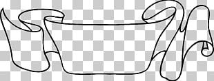 Drawing Web Banner Ribbon PNG