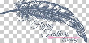 Feather Archery Wing T-shirt Font PNG