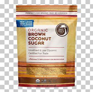 Organic Food Chocolate Brownie Coconut Sugar Brown Sugar PNG