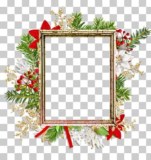 Paper Frames Christmas Ornament PNG
